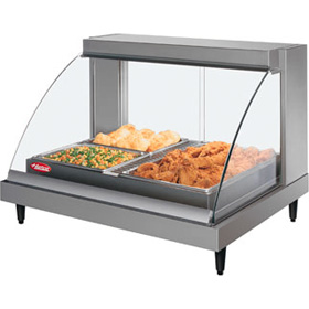 Hatco GRCDH-2PD - Heated Display Cabinet - with Humidity - Two Pan ...