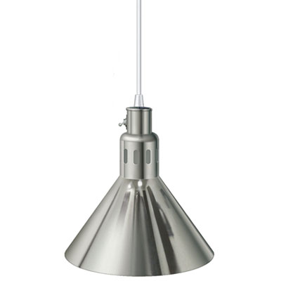 Hatco DL-775-CL-P - Heat Lamp with Cord Mount to Ceiling - Plated ...