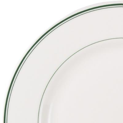 Green Band Plate · Green Band Chinaware ...  sc 1 st  ZESCO.com & Homer Laughlin China 2041 - Green Band - Plates - 8-1/4 ...