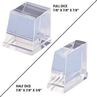 Full or Half Dice Cubes