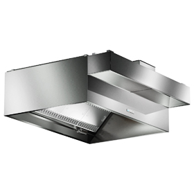 Commercial Exhaust Hood System
