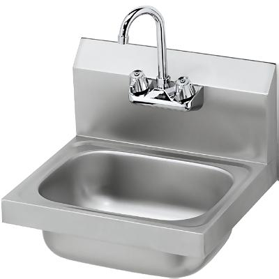BK BKHS W 1410 P G   Hand Wash Sink   Wall Mount