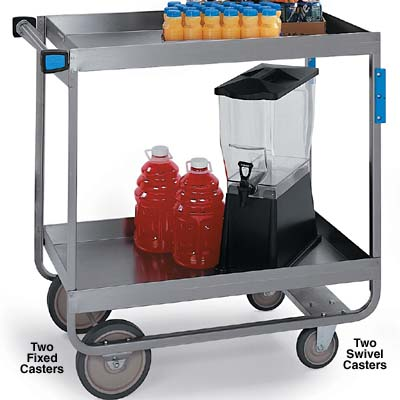 kitchen utility carts lakeside 743 utility cart 700 lb capacity stainless steel