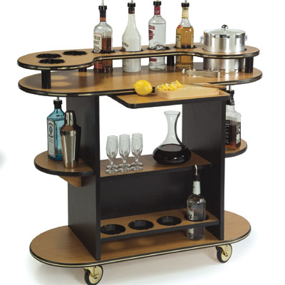Lakeside 37210 Gr2 Geneva Cocktail Service Cart