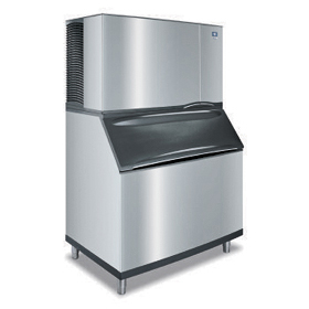 Ice Machine with Bin