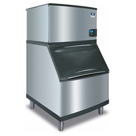 Indigo Ice Machine on Bin (sold separately)
