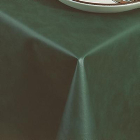 ... Ultra Solid Vinyl Tablecloth, Forest Green