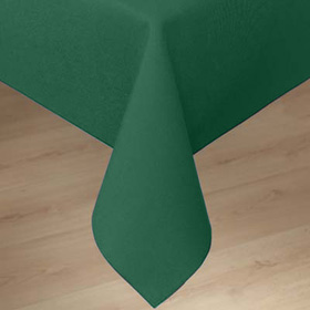 Linen Tablecloth, Forest Green