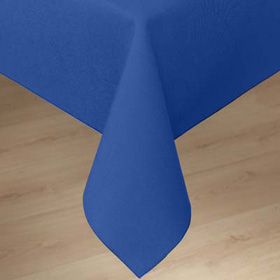 ... Linen Tablecloth, Cadet Blue ...
