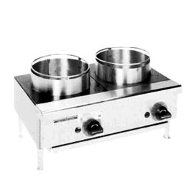 Rankin Delux ORHP224C  Two Burner Range  24quot; Wide  Counter Top