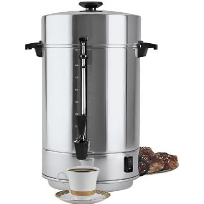 Coffee Maker With Percolator : Regal Ware 58001R - Coffee Maker Percolator - 12 To 100 Cup - Coffee Makers - ZESCO.com