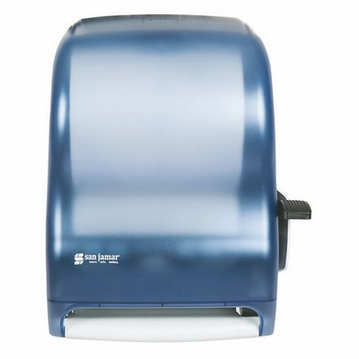 Browse More Paper Towel Dispensers · Lever Roll Dispenser, Artic Blue