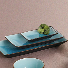CAC China 666 34 Japanese Style Rectangle Plates 8 1 2 Long : japanese square plates - Pezcame.Com