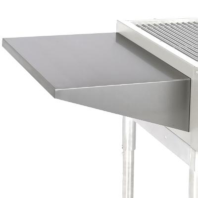 "7"" Extended Plate Shelf for 60"" Ultra Max Commercial Char Broiler Unit"