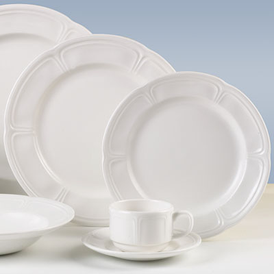 Monique Plate · Monique Chinaware & Steelite China 9007C014 - Monique Plates - 10-5/8