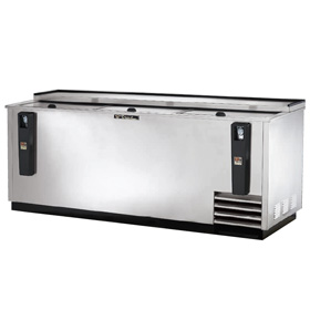 "True 80.50"" Bottle Cooler, Stainless Steel"