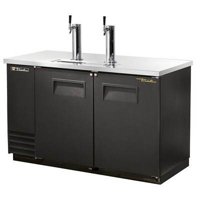 "True 59"" Draft Beer Dispenser Cooler"