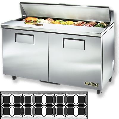 Sandwich prep tables price for 820 salon jackson mi