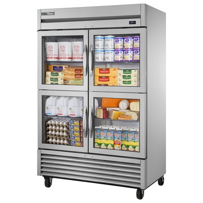 True TS-49G-4 Reach-In Refrigerator
