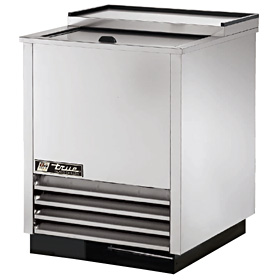 "24-3/4"" Wide Glass Chiller, Stainless Steel"