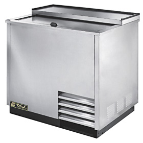 "36-3/4"" Wide Glass Chiller, Stainless Steel"