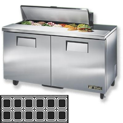 True TSSU-60-12 Sandwich Prep Table