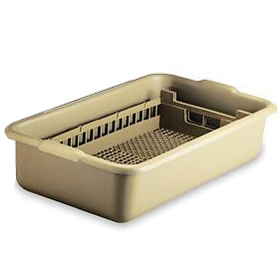 Vollrath 52827 - Flatware Silverware Soak System - One Rack - One