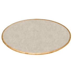 Round Table Top With Beech Wood Perimeter