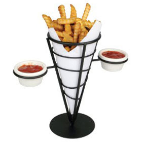 Winco Wbkh 5 Conical Serving French Fry Baskets 2
