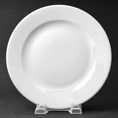 Princess Rolled Edge Off White 11\  Dinner Plate & World Tableware PWC-37 - Princess Rolled Edge Plates - 11 ...