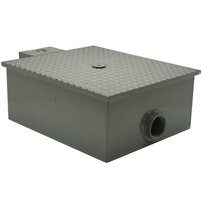 Zurn Gt2701 35 Low Profile 70 Lb Grease Trap Grease