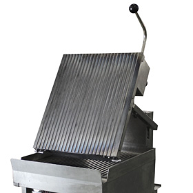 Top Grill Tilts Forward for Easy Cleaning
