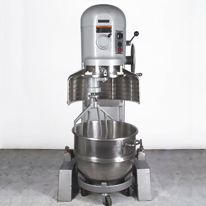 Commercial mixers for baking