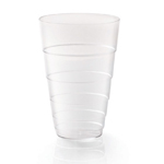 Rosseto L50000 - Liteware Clear Plastic Tumbler Glass - 12oz