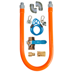"BK BKG-GHC-5036-SCK7 - Quick-Connect Gas Hose Kit - 1/2"" ID x 36"" L"