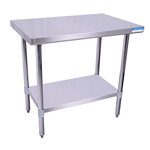 "BK SVT-3624 - Flat Top Worktable - 36"" x 24"""