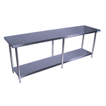 "BK SVT-9630 - Flat Top Worktable  - 96"" x 30"""