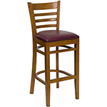 Flash W0005BARLAD-CHY - Wooden Restaurant Bar Stool