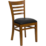 Flash W0005-LAD-CHY - Wooden Restaurant Dining Chair