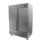 Zesco FZ-2D - Reach-In Freezer - 2 Door - Bottom Mount