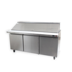 Zesco SLM-3D - 3 Door Refrigerated Salad Prep Table