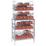 Amco SM4-B - #10 Can Rack - 120 Can Capacity