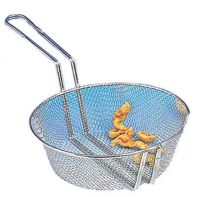 "American Metalcraft CBF-8 - 8"" Diameter Fine Mesh Fryer Baskets"