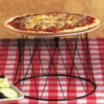 American Metalcraft DPS797 - Pizza Tray Stand - Iron Drum Style