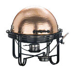 American Metalcraft MESA91C - Hammered Copper Round Mesa Chafer