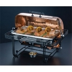American Metalcraft MESA72C - Mesa Chafer - Roll Top - 8 Qt