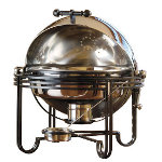 American Metalcraft MESA19 - Round Mesa Chafer - Roll Top