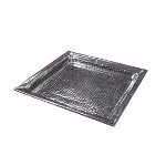 "American Metalcraft HMSQ18 - Square Tray - Stainless - 18"" x 18"""