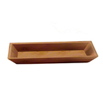 American Metalcraft BAM14 - Small Rectangle Tray - Bamboo