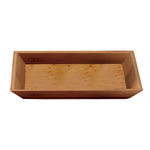 American Metalcraft BAM18 - Medium Rectangle Tray - Bamboo
